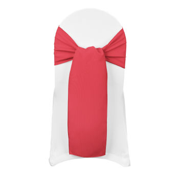 Holiday Red Classic Linen Sash