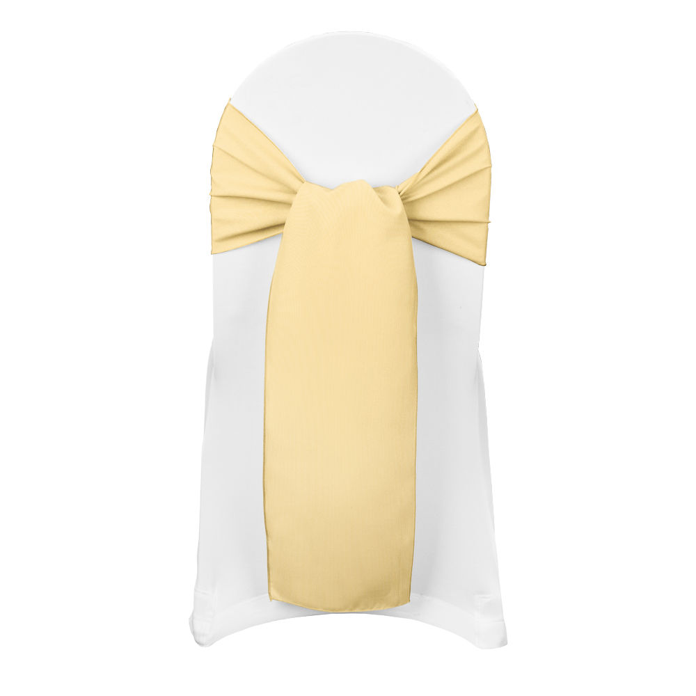 Honey Classic Linen Sash
