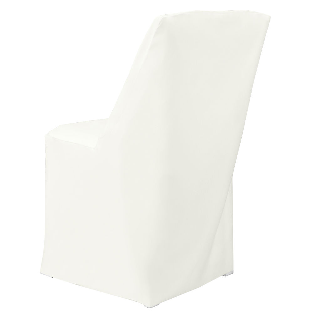 Ivory Classic Linen Chair Cover