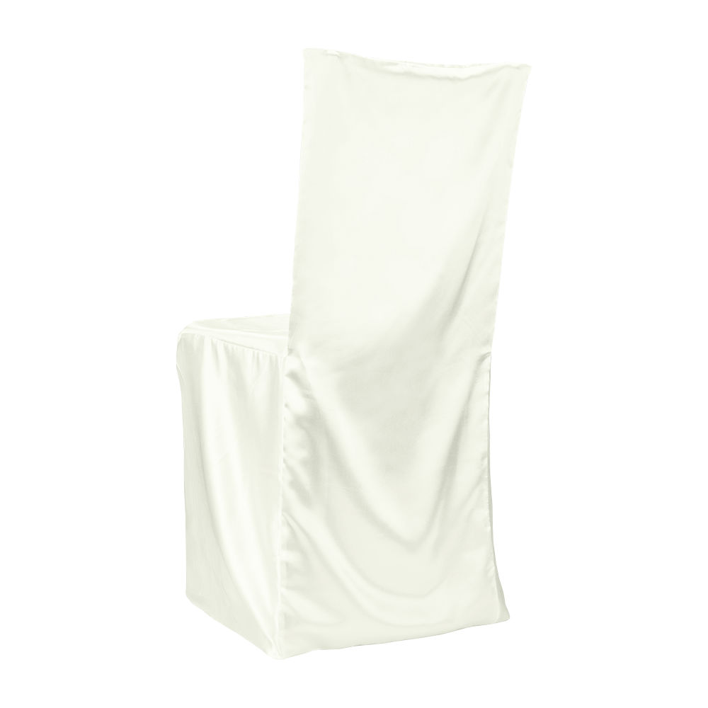 Linen Chair Cover Ivory Classic Satin Chiavari Coverchair Covers Linens