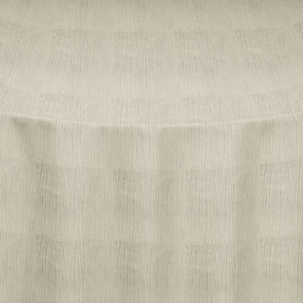 Ivory Crinkle Taffeta Table Linen