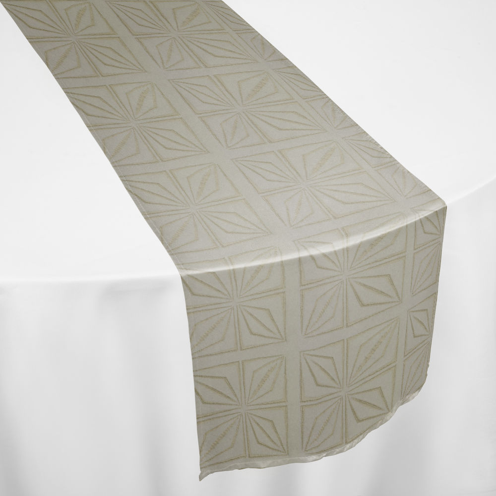 Ivory Deco Table Runner
