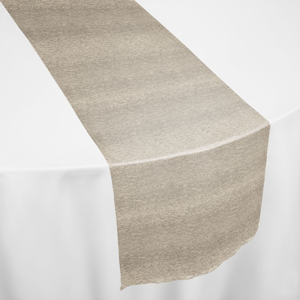 Ivory Rattlesnake Table Runner