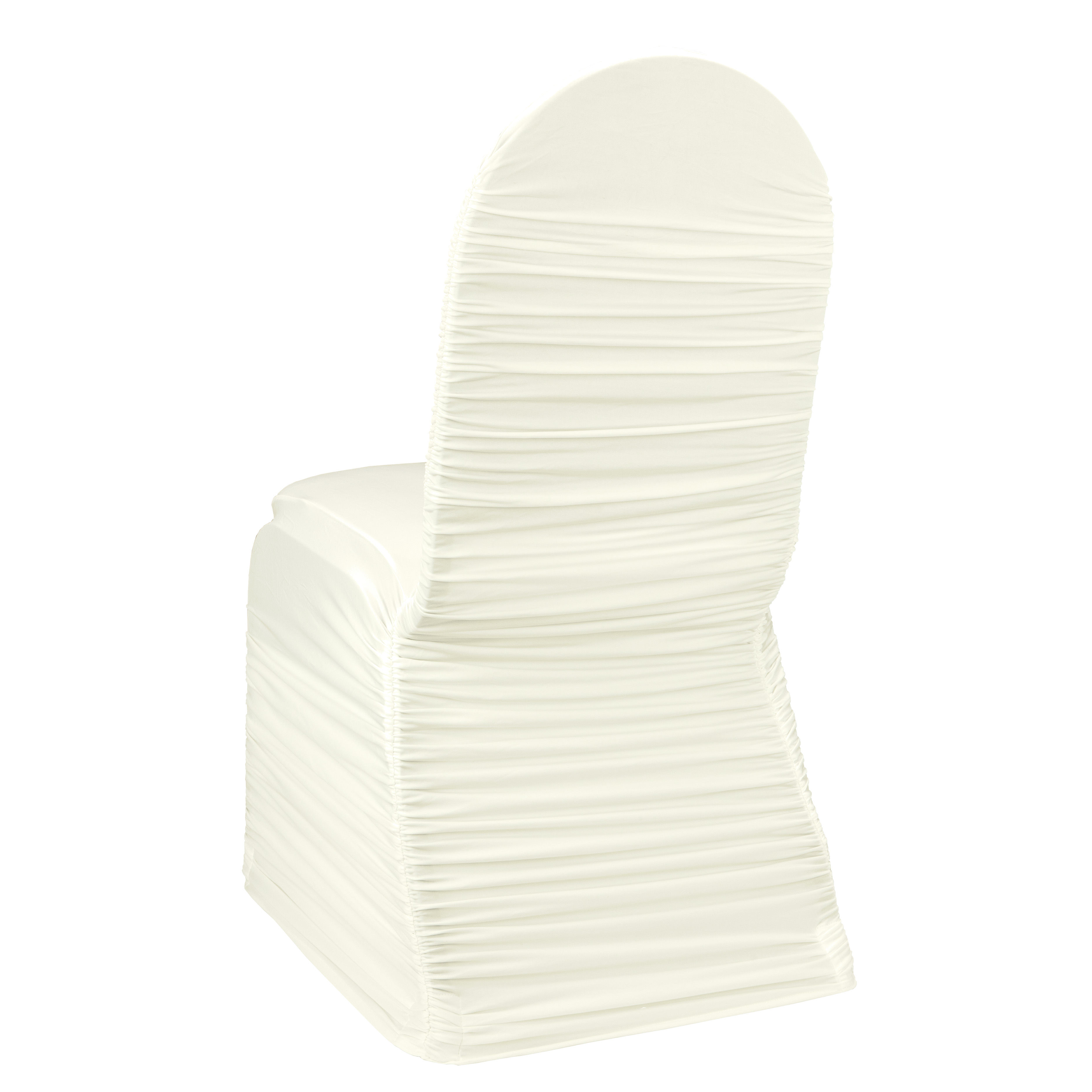 Ivory Ruched Banquet Chair Cover By Chair Covers Amp Linens