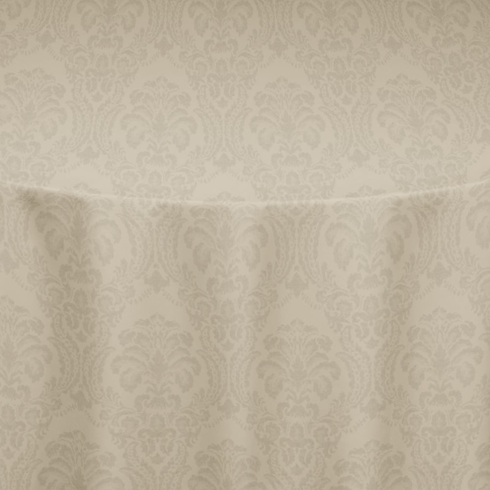 Ivory Wellington Damask Table Linen