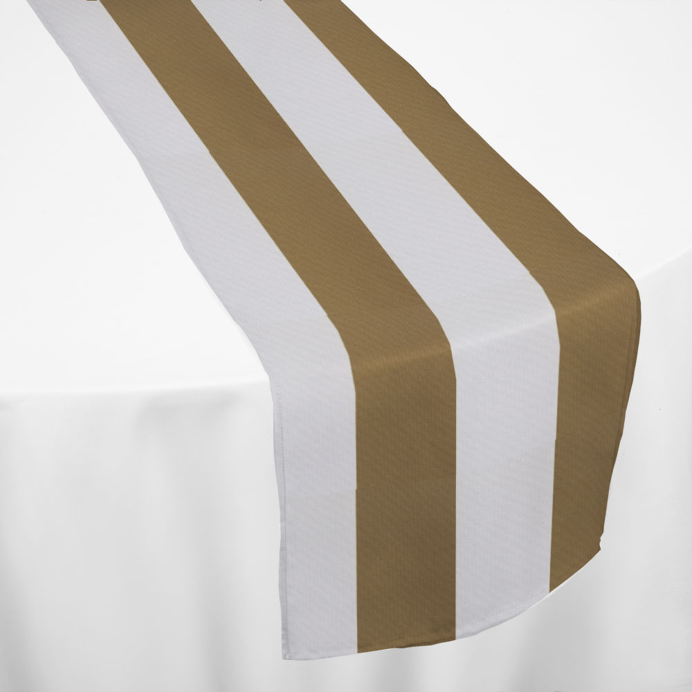 Khaki Cabana Table Runner