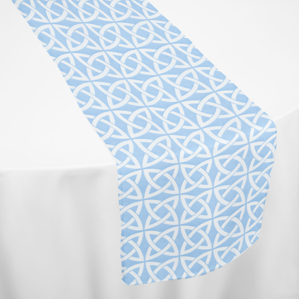 Light Blue Celtic Table Runner