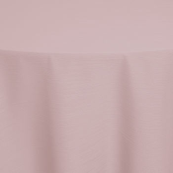 Light Pink Faille Table Linen