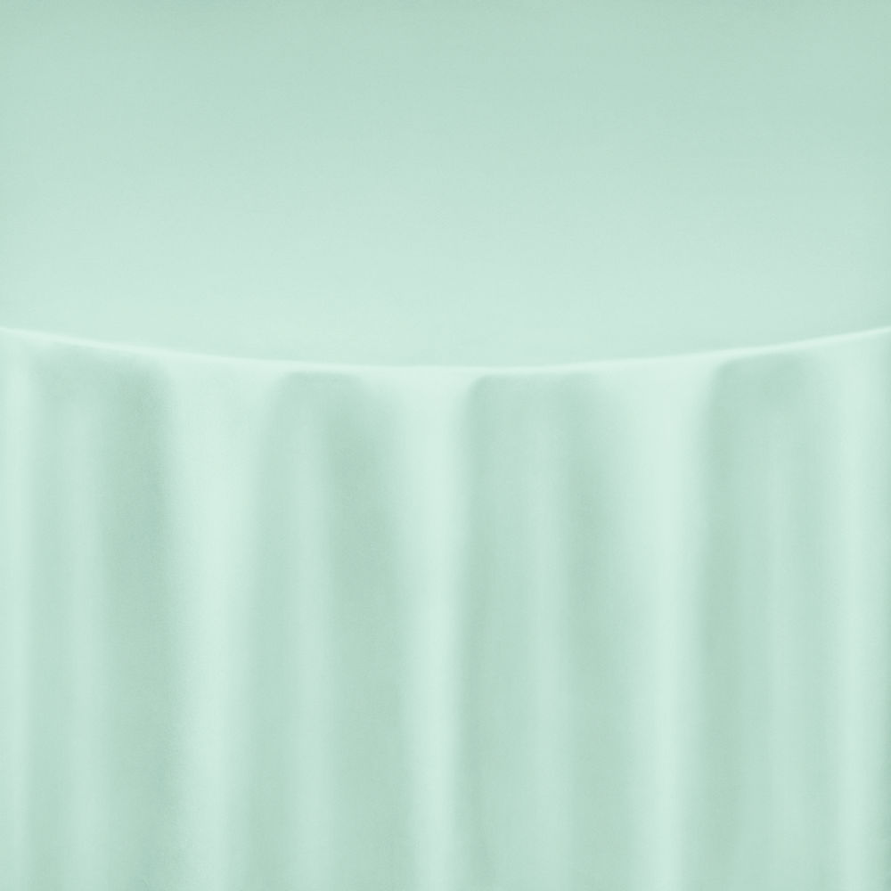 Mint Ss Satin Table Linen