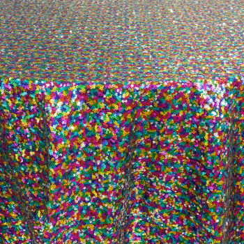 Multi Sequin Table Linen