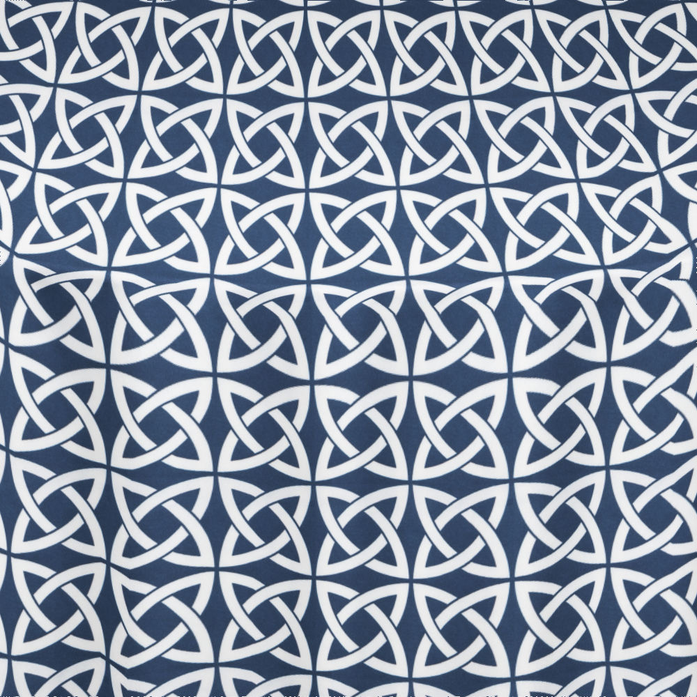 Navy Celtic Table Linen