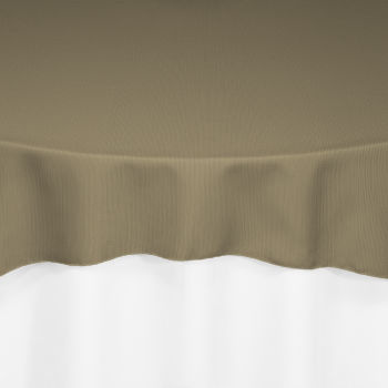 Olive Classic Linen Overlay