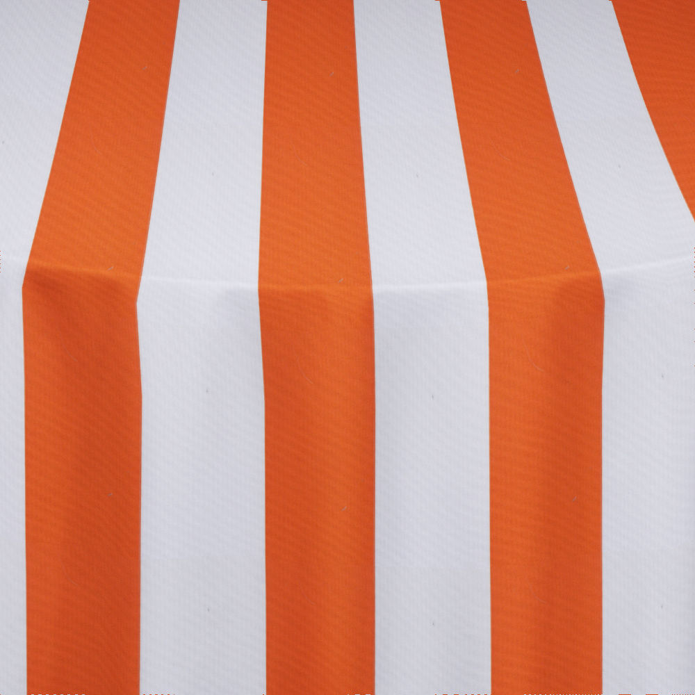 Orange Cabana Table Linen