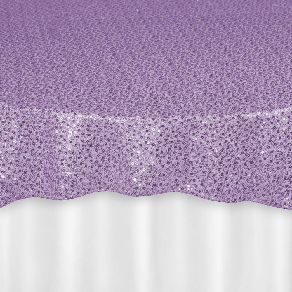 Orchid Starlet Sequin Overlay