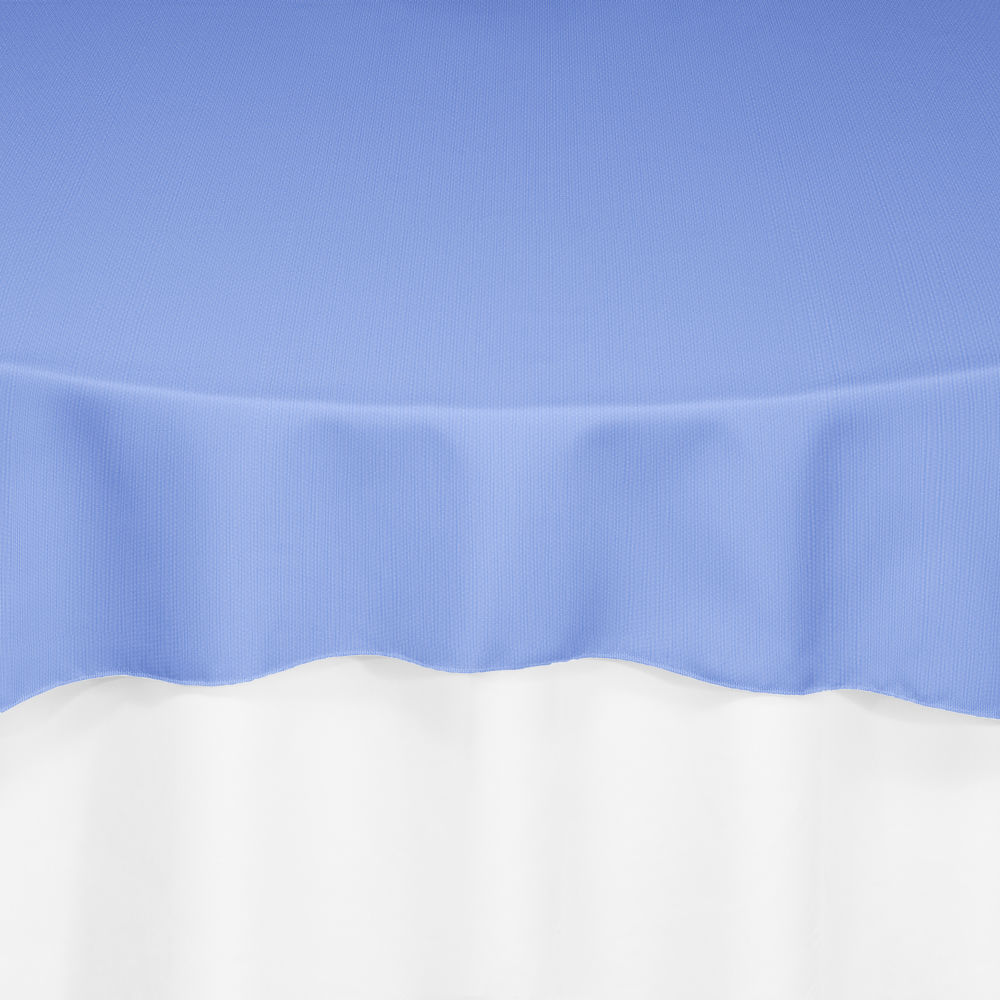 Periwinkle Classic Linen Overlay