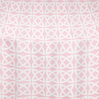 Pink Celtic Table Linen