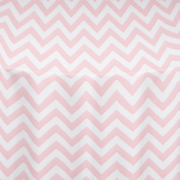 Pink Chevron Table Linen