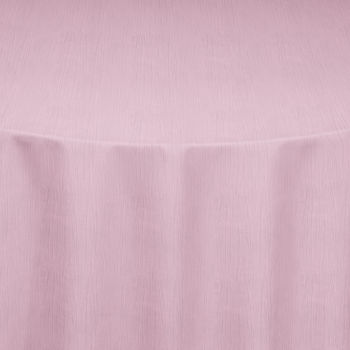 Pink Crinkle Taffeta Table Linen