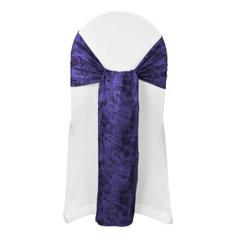 Purple Black Galaxy Sash