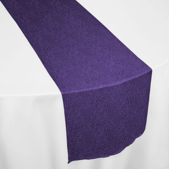 Purple Marilyn Table Runner