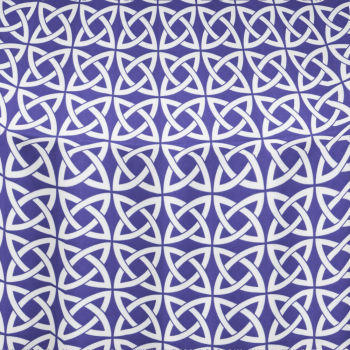 Purple Celtic Table Linen