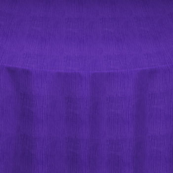 Purple Crinkle Taffeta Table Linen