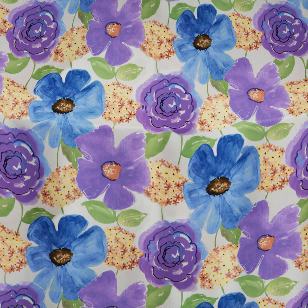 Purple Perfect Poppy Table Linen