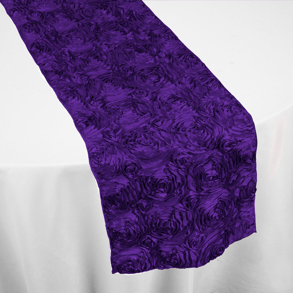 Purple Roses Table Runner By Chair Covers Amp Linens