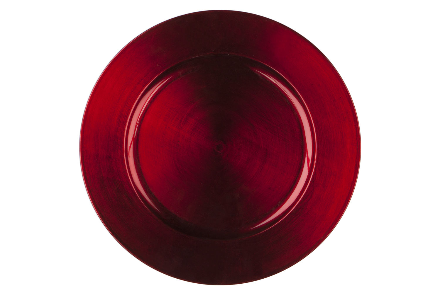 Red Basic Acrylic Charger Plate By Chair Covers Amp Linens