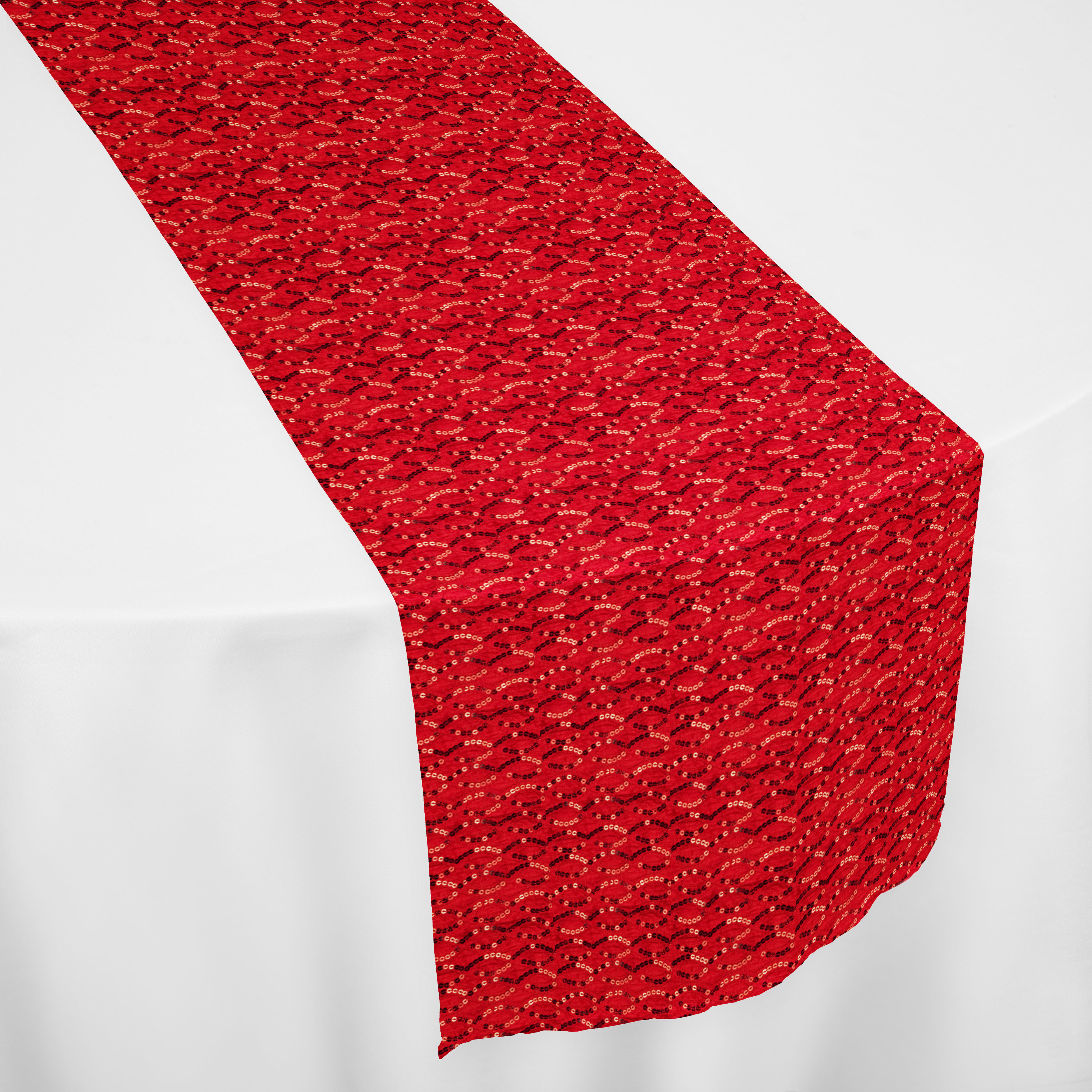 Red Blitz Table Runner