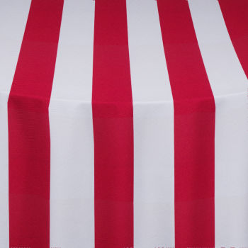 Red Cabana Table Linen
