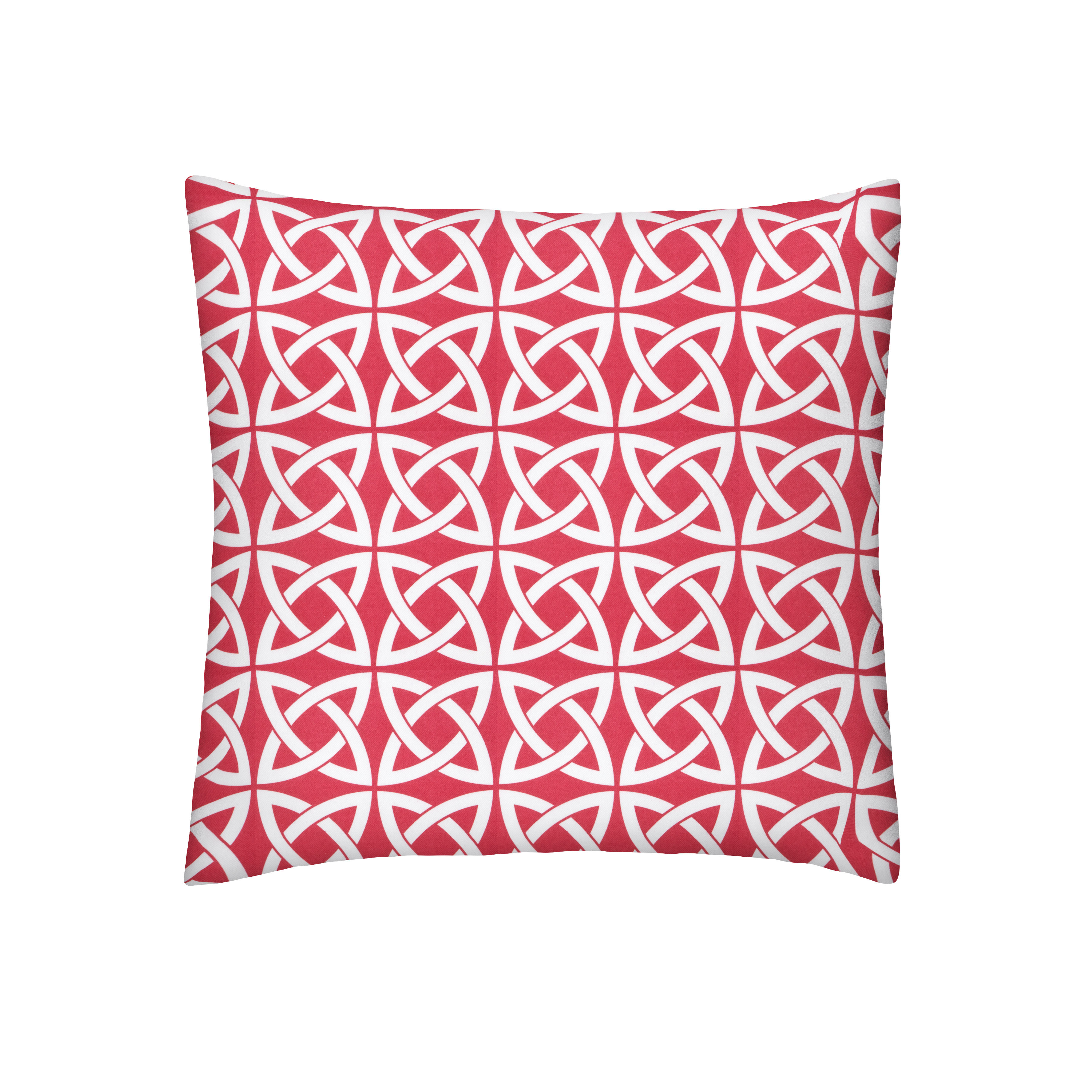 Red Celtic Pillow