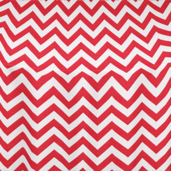 Red Chevron Table Linen
