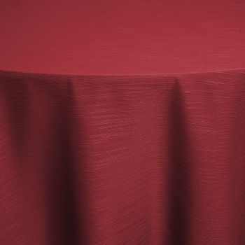 Red Faille Table Linen