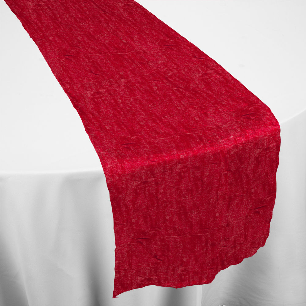 red galaxy table runner by chair covers linens. Black Bedroom Furniture Sets. Home Design Ideas