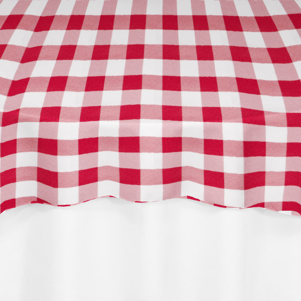 Super Red Gingham Overlay By Chair Covers Linens Andrewgaddart Wooden Chair Designs For Living Room Andrewgaddartcom