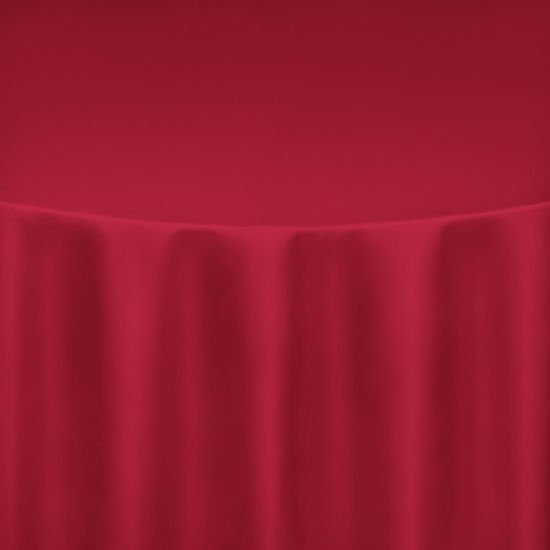 Roja Red Duchess Satin Pillow Case Chair Cover by Chair