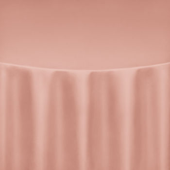 Rose Gold Duchess Satin Table Linen