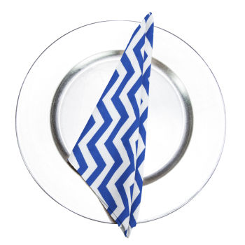 Royal Chevron Napkin