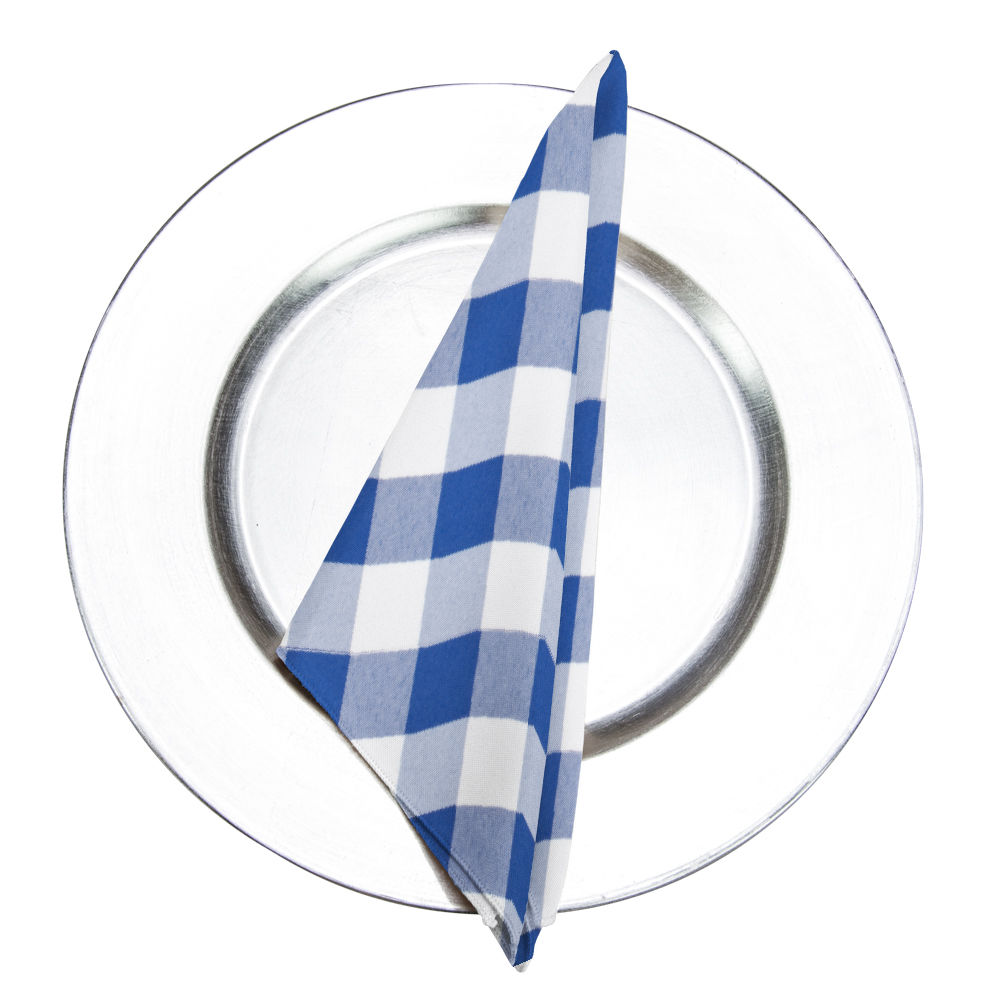 Royal Gingham Napkin