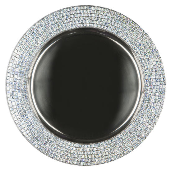 Silver Celebrity Metal Charger Plate By Chair Covers Amp Linens