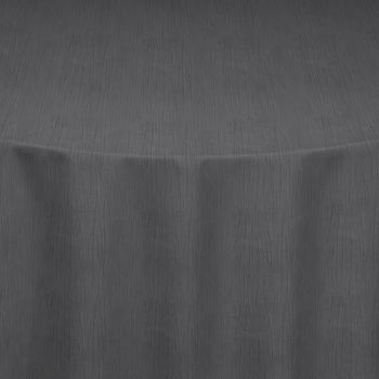 Silver Crinkle Taffeta Table Linen