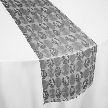 Silver Faberge Table Runner