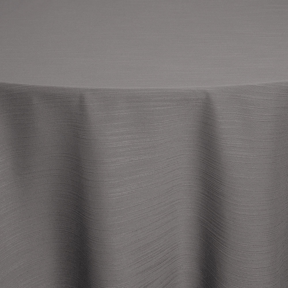 Silver Faille Table Linen