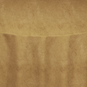 Tan Velvet Table Linen
