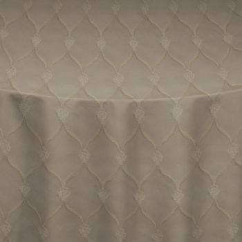 Taupe Charlotte Table Linen