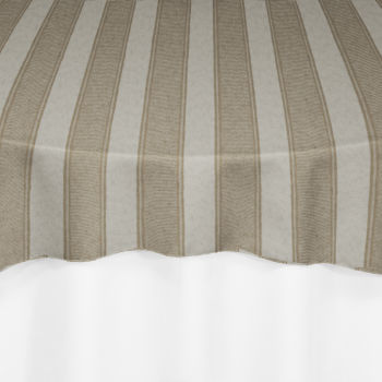 Taupe Rugby Damask Overlay