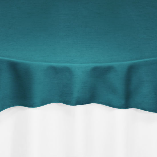Teal Faux Dupioni Table Linen By Chair Covers Amp Linens