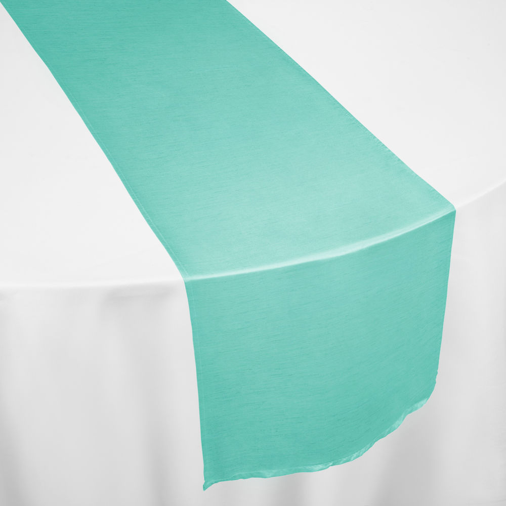 Tiffany Faux Dupioni Table Runner