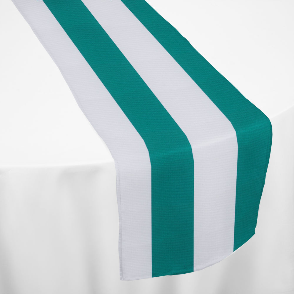 Turquoise Cabana Table Runner